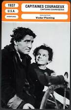 CAPITAINES COURAGEUX - Tracy,Fleming (Fiche Cinéma) 1937 - Captain Courageous
