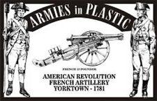 ARMIES IN PLASTIC 1/32 US Revolution Yorktown 1781 French Artillery (5) ARM5481