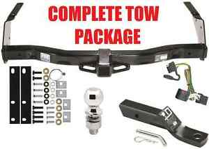 01-2003 DODGE 1500 2500 3500 RAM VAN COMPLETE TRAILER RECEIVER TOW HITCH PACKAGE
