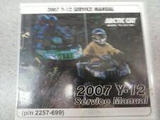 2007 Arctic Cat Y-12 ATV Service Manual (P/N 2257-699)