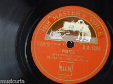 78rpm RICHARD CROOKS parted / i love thee
