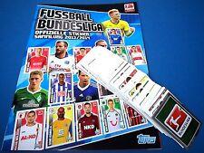 TOPPS Bundesliga 2013/14 - Komplettset 1-280 + Leeralbum Neu/Top