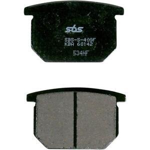 SBS 533HF FRONT Ceramic Brake Pads 1721-0268 SUZUKI 1981 GSX 250 NS316