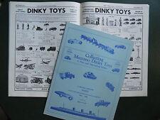 DINKY TOYS MECCANO MAGAZINE 1928-1940 FAC-SIMILES 28 PAGES NOIR ET BLANC