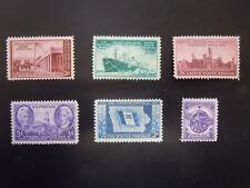 1946 US Commemorative Complete Year Set  #939-944  MNH OG