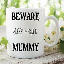 Humor Becher Lustige Neuheit Schlaf Deprived Mummy Mum Kaffeetasse Arbeit