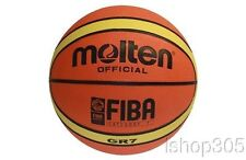 "Molten GR7 FIBA Approved Rubber Outdoor Basketball Official Size 7 (29.5"")"
