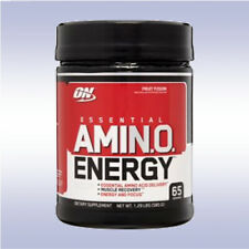OPTIMUM NUTRITION AMINO ENERGY (65 SERVINGS) bcaa eaa caffeine gold standard pre