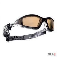 Bolle Tracker TRACPSJ Anti Fog Scratch Yellow Lens Vented Safety Goggle Glasses
