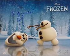 Josh Gad Olaf Signed I Like Warm Hugs Disney Frozen 16x20 Photo PSA Pic Proof C