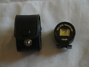 Helios Viewfinder and case. For 35mm, 85mm and 135mm lenses