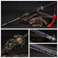 """40.55""""Hand Forge Chinese Sword """"Tai Chi Jian""""Carbon Steel Alloy Fitting"""