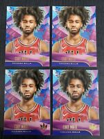 2019-20 Court Kings Coby White RC Level 1 I Rookie Card Chicago Bulls RC LOT X 4