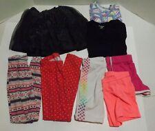 Lot of 8 Size 5T Clothes Clothing Legging Shorts Skirt Shirt Garanimals Carters