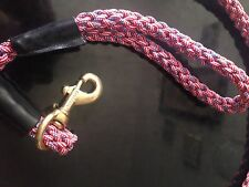 Sgt Knots Paracord Patriot USA Flag color coded Dog Leash New