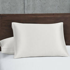 Silk Goose Down Pillows 450 Thread Count 700 Fill Power Firm Support (Single)