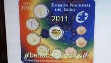 2011 SPAGNA 9 monete 5,88 euro espagne spanien España spain Испания