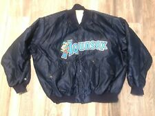 Vintage MLB Everett AquaSox Rawlings Satin Jacket Men's 3xl Minor League Nice