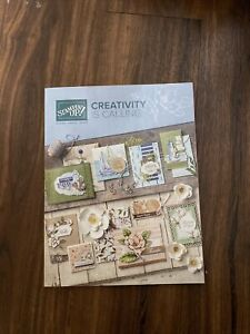 Stampin Up ANNUAL CATALOG June 2019 June 2020 Brand New Stamping Card Ideas