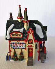 "Department 56, North Pole, ""Santa's Light Shop"""