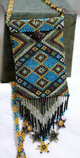 Mini Hand Beaded Cross Body Fashion Purse Card Holder