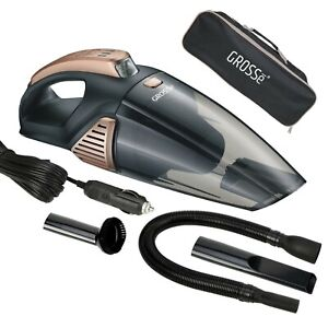 Wet & Dry Vacuum Cleaner Car Handheld Rechargeable Home Portable 106W Carry Bag