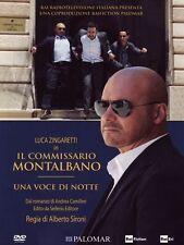 Dvd IL COMMISSARIO MONTALBANO - UNA VOCE DI NOTTE - (2013) Slipcase......NUOVO
