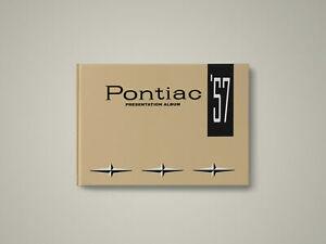 1957 Pontiac Dealer Presentation Album Book / Chieftain, Star Chief, Super Chief