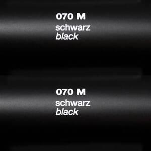 (5,1€/m²) Plotterfolie ORACAL 631 Schwarz matt 5m x 31cm schwarz 070 Klebe-Folie