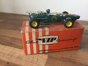 vintage vip raceways slot car r67 Indianapolis lotus Scalextric