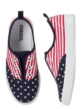 Gymboree Star Spangled Days USA Flag Shoes Sneakers Nwt Boys Size 2