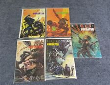 1990 DARK HORSE Comics ALIENS Vs. PREDATOR #0 & #1-4 Complete Series Set -