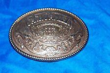 Jack Daniel's Belt Buckle Old No. 7 Brand Whisky Whiskey Cowboy Western Men's