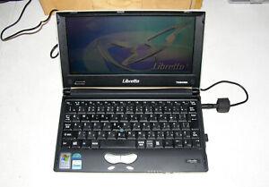 Toshiba Libretto L5 Crusoe 800MHz 256MB RAM 20GB HD Win XP Pro Floppy Wifi *RARE