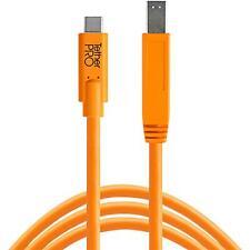 Tether Tools USB-C zu 3.0 Male B 4,60m orange Studioequipment