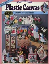 Plastic Canvas Home Accessories California Country 15 Floral Projects RARE