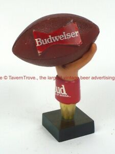 1990s BUDWEISER Figural Football 5½ inch Tap TavernTrove