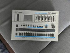 Mint Roland Tr-727 Drum Computer Rhythm Composer Gift Amazing White Rare Machine