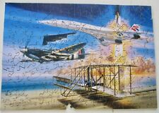 WENTWORTH WOODEN JIGSAW ~ WRIGHT TO FLY   ~ 250 PCS