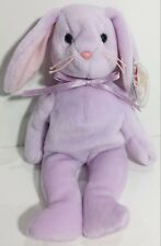 """TY Beanie Babies """"FLOPPITY"""" Lavender EASTER Bunny RABBIT - MWMTs! PERFECT GIFT!"""