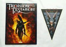 BD - Le Troisième Testament T.1 Marc + Ex-libris n°/s / DORISON / ALICE / GLENAT
