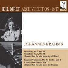 Brahms: Symphonies Nos. 3 & 4/Piano Transcriptions, New Music
