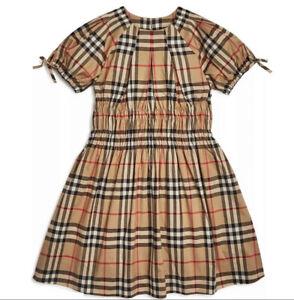Burberry Toddler Girls 'Joyce' Smocked Vintage Dress 3Y / 3T