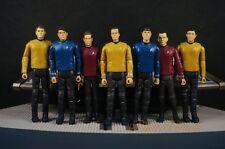 """Star Trek Enterprise Captain Spock Kirk 3.75"""" 1:18 Figure Toy Model A621 Team 7"""