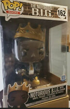 "Funko Pop! Rocks: Notorious B.I.G with crown 10"" inch Biggie Smalls"