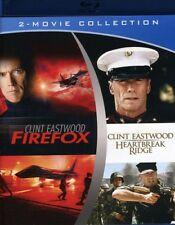 Clint Eastwood - Heartbreak Ridge & Firefox [New Blu-ray]