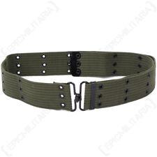 Mil-Tec Military Lc1 Duty Pistol Belt 100 Cotton Size Adjustable Olive