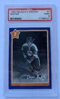 1982 Neilson's Gretzky #7 SKATES w/ Wayne Gretzky PSA MINT 9