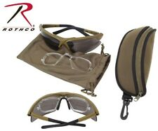 148b291ed526a Coyote Spec-Ops Military Ballistic Glasses Tactical Eyewear Kit Rothco 10537