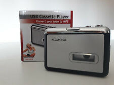 Convertitore da cassette audio a MP3 KONIG HAV-CA10